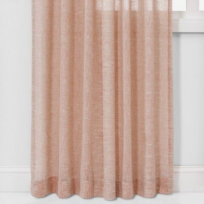 84 X54 Richter Clipped Sheer Curtain Panels Coral Project 62