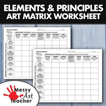 Elements And Principles Of Design Worksheet For High School Graphic Design Lesson Plans Graphic Design Lessons Graphic Design High School,Modern Commercial Office Design Ideas