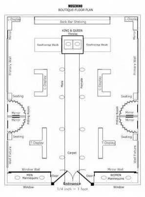 Newest Photo Bridal Boutique Floor Plan Strategies Store Design