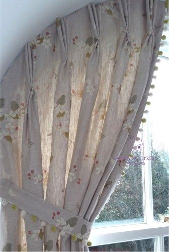 Curtains For Arched Windows In Fife Catherine Lepreux Interiors Curtains For Arched Windows Arched Window Treatments Arched Windows