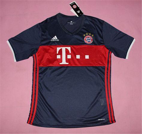715b44be2a8 Bayern Munichen Jersey 2017/18 Away Soccer Shirt | 2017/18 Soccer ...