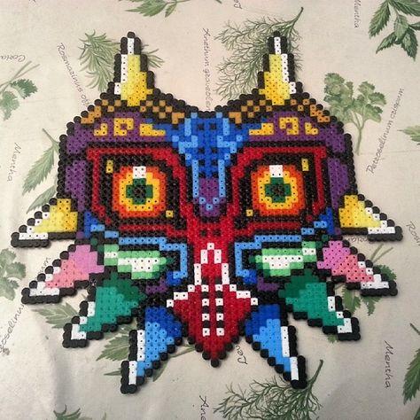 master sword shield perler beads storenvy