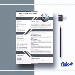 Design Ton Cv Cv Infographiste Cv Graphique Le Cv