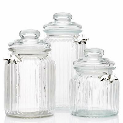 Glass Apothecary Jars With Lids Cookie Jar Candy Jar Glass Kitchen Canisters Wedding C Glass Apothecary Jars Glass Kitchen Canisters Decorative Glass Jars