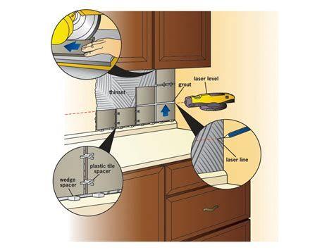 25 How To Install A Backsplash Kitchen Backsplash Tile Diy Install Backsplash Diy Backsplash