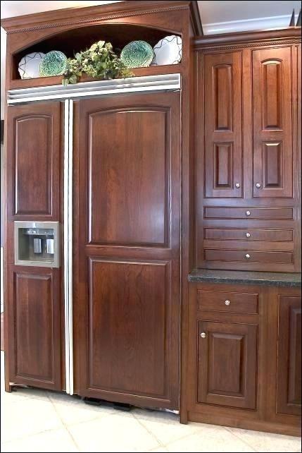 Fridge Wood Refrigerator Door Panels