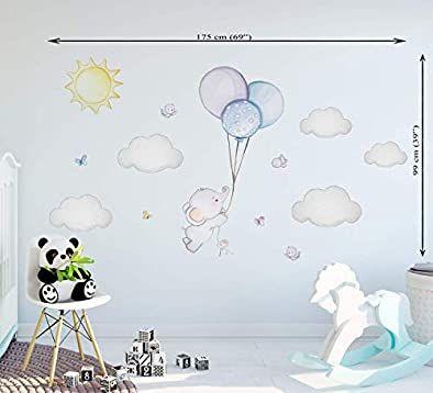 Elefant Wandtattoo Baby Wandtattoo Elefant Sticker Junge Kinderzimmer Deko Junge Ballon Kinder Elefant Ba In 2020 Wandtattoo Babyzimmer Baby Wandtattoo Babyzimmer Deko