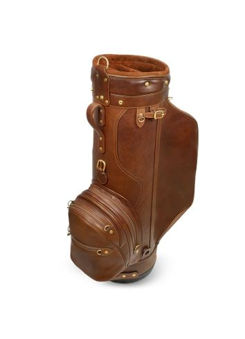 Golfing in style - Pellevera Pro Staff Genuine Italian Leather Golf Bag
