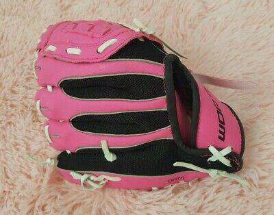 Worth Model W10pbm 10 Pattern Bright Pink Baseball Softball Glove 43365340855 Ebay Softball Gloves Baseball Softball Usa Baseball