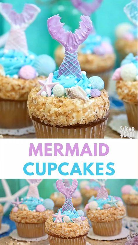 Mermaid Cupcakes Video