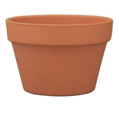 Pennington 6 75 In Terra Cotta Clay Azalea Pot Clay Flower Pots Terracotta Plant Pots Small Terracotta Pots