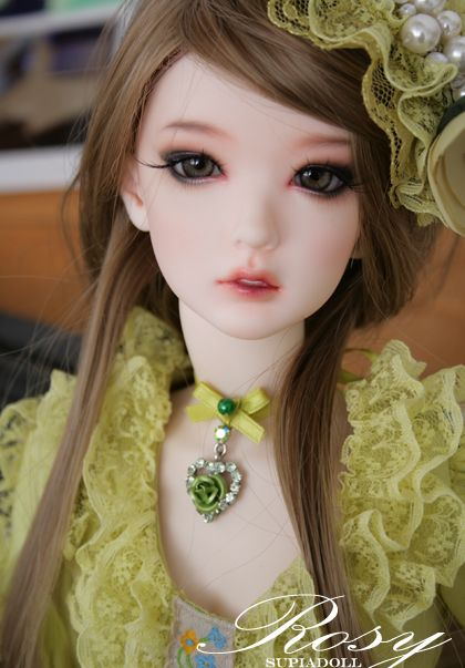 1//3 BJD Doll Bunny girls include eyes face make up