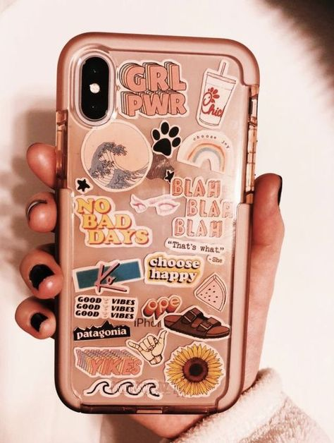 Love this one ★ phone stickers, diy case, diy phone cases, clear phone