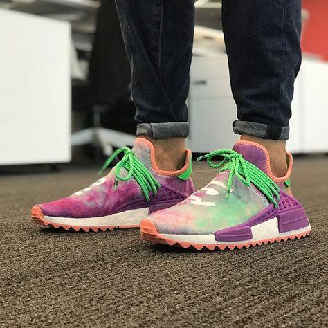 Adidas NMD.Human Race.Pharrell x Adidas NMD Hu Trail Holi