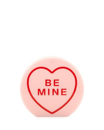 THE CANDY CRUSHER - Charlotte Olympia Be Mine clutch.