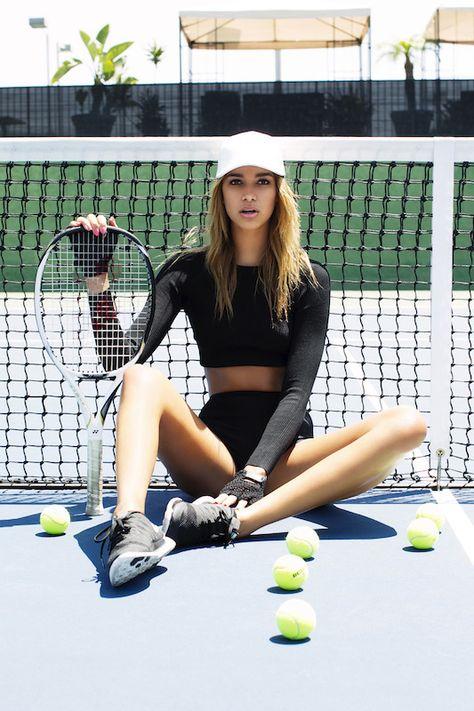 April Love Geary tennis #Tennisplanet www.tennisplanet.com