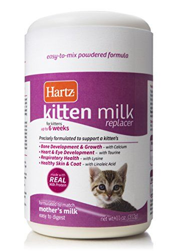 Hartz Powdered Kitten Milk Replacer Formula 11oz Check Out The Image By Visiting The Link This Is An Affiliate Link Mother Milk Cat Food Brands Kittens