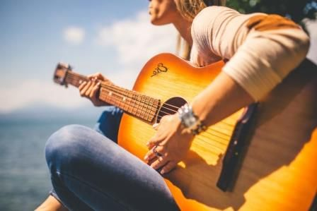 Buy A Guitar From An Online Supplier In The Philippines Learn To Relax While Playing Playing Guitar Guitar Learn Guitar