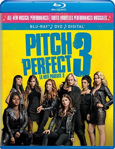 Pitch Perfect 3 Dvd Blu Ray Pitch Perfect The Bellas A Cappella