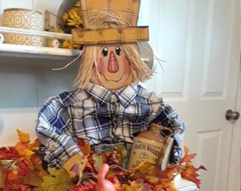 Pin On Wooden Scarecrow