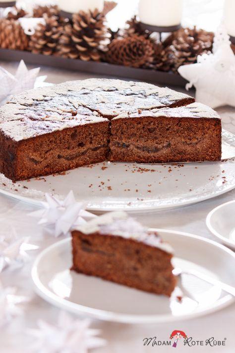 Gewurzkuchen Mit Zwetschgenmusfullung Perfekt Vorzubereiten Fur Die Feiertage Gewurzkuchen Kuchen Und Torten Und Susses Backen