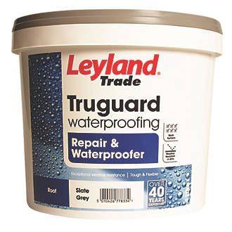 Cementone Flexacryl Black 5kg Leyland Trade Truguard Repair Waterproofer Slate Grey 4ltr 2001p Copy Waterproofers Roof Maintenance Repair
