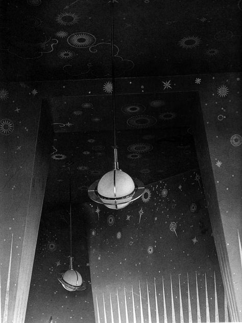 The truly lovely and lost Chrysler Building Observatory, Cloud Club. (via ScoutingNY, source FlapperGirlCreations, photos from