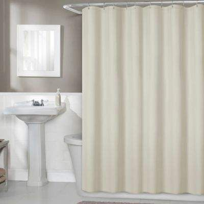 70 Inch X 72 Inch Fabric Shower Curtain Liner In Linen Fabric Waterproof Shower Home Style Interior Fabric Shower Curtains Curtains Waterproof Fabric