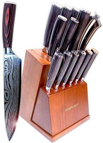 High Carbon Steel Kitchen Knife Set