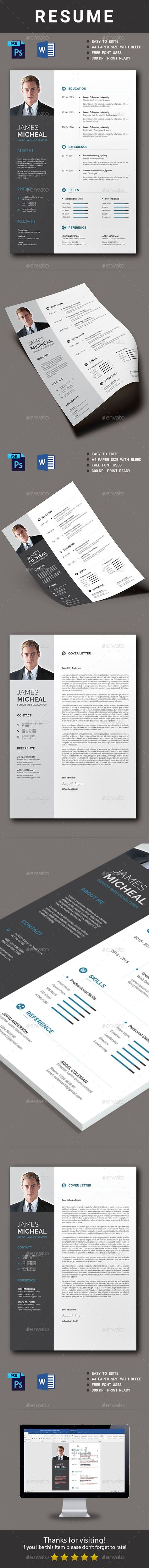 Resume Cv template Template and