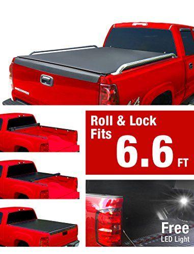 Premium Low Profile Roll Up Truck Bed Tonneau Cover 1999 2006 Chevy Silverado Gmc Sierra 1500 2500 3500 Hd Incl 2007 Classic Best Truck Bed Covers Tonneau Cover Truck Bed