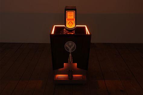 Jägermeister Tap-Machine - vonschmidt design  Redesign der seit den 90er Jahren bekannten Tap-Machine.  #vonschmidt #display #posdesign #jägermeister