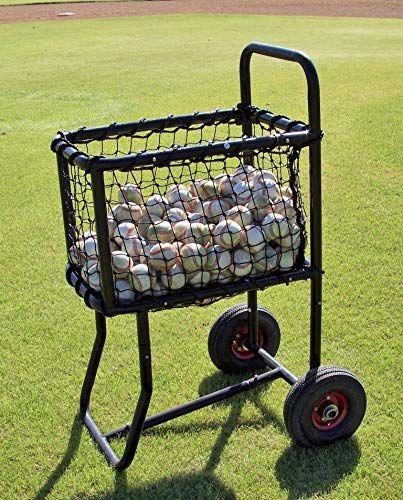 Buy Muhl Tech Pro Ball Cart Online Baseball Balls Batting Cages Professional Baseball