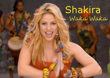 Waka Waka World Cup Song Fifa Shakira