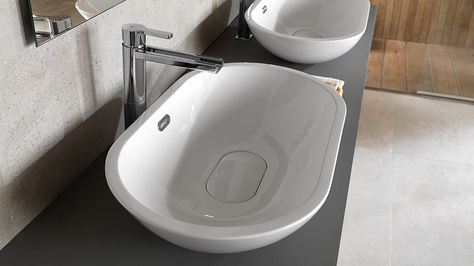 Lavabo Acro Compact.Basins With Multiple Placement Options Because No Two