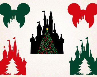 Disney Christmas Svg File Etsy Disney Christmas Disney Scrapbook Christmas Svg Files