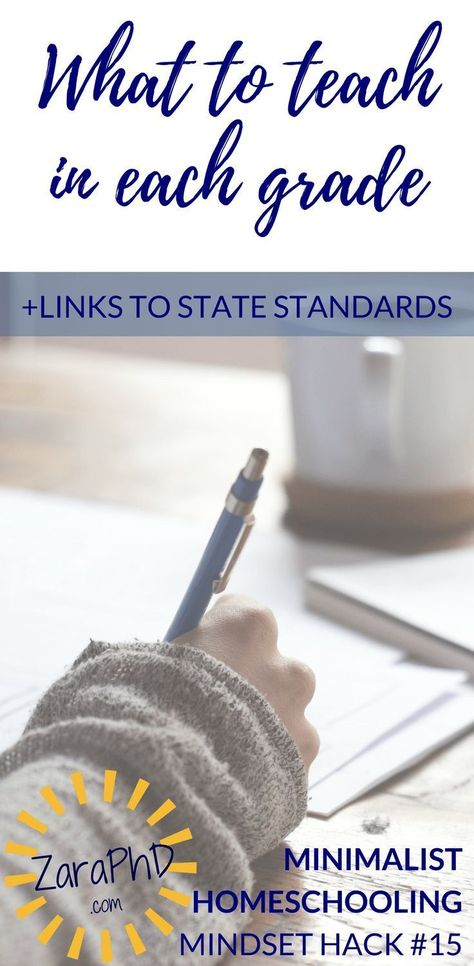 State Education Standards & Grade-Level Goals - Zara, PhD Minimalist Homeschool: Pin this for links to all state academic standards. provides a good starting point for minimalist homeschooling goals. Free Homeschool Curriculum, Homeschool Kindergarten, Preschool Plans, Kindergarten Readiness, Montessori Elementary, Montessori Preschool, Preschool Age, Preschool Learning, Elementary Education