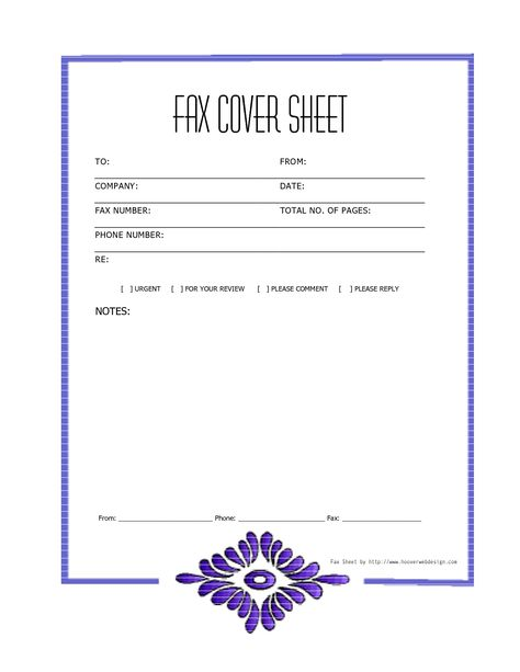Free Cover Fax Sheet For Microsoft Office, Google Docs, \ Adobe - fax resume cover letter