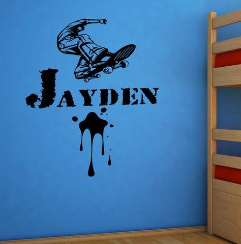 Indoor//Outdoor AYDEN Street Sign Childrens Name Room Decal