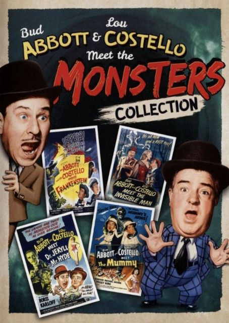 Abbott And Costello Meet The Invisible Man Abbott Costello Meet The Monsters Collection Dvd Best Buy Abbott And Costello Bud Abbott Movies By Genre