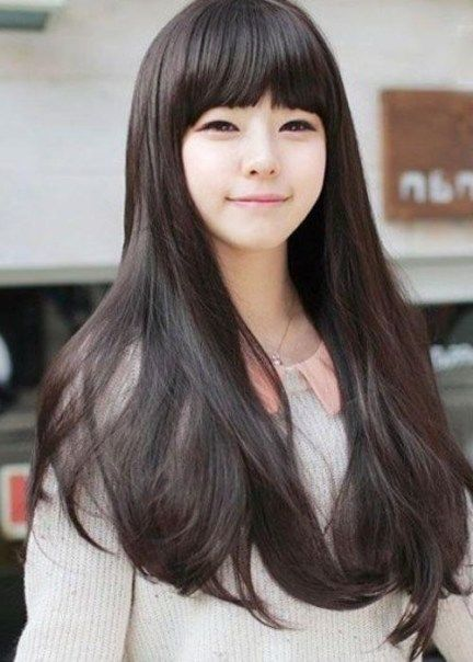 The 25 Best Korean Hairstyles Women Ideas On Pinterest Korean For Korean Girl Long Hairstyles Latest Hairstyles 2020 New Hair Trends Top Hairstyles Korean Hairstyle Long Hair Styles Womens Hairstyles
