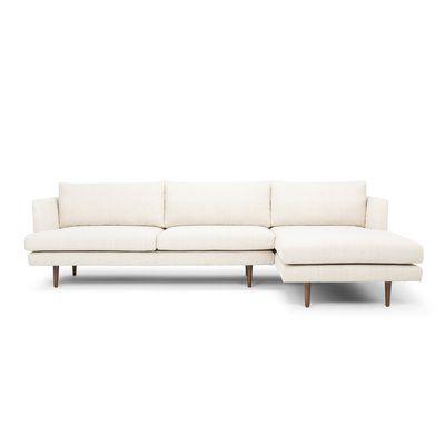 Sectional Sofa, Cream Sleeper Sofa With Chaise