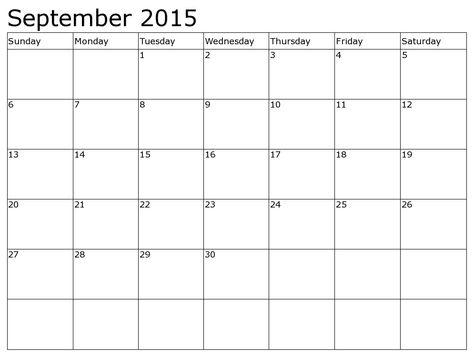 September 2015 Calendar Calendar Pinterest September - julian calendar template