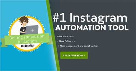JARVEE's growth hacking tools will help you grow your accounts organically with real and enagaged followers