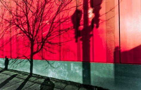 """Red Wall Shadows"" by Orlin Bertsch, via 500px."