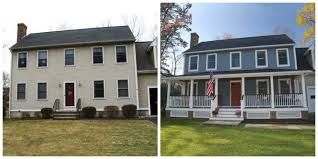 Image Result For Porch Additions Before And After Colonial