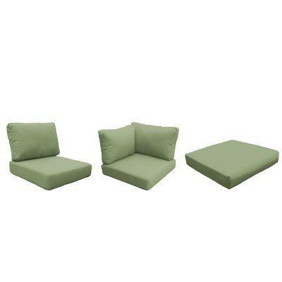 Sol 72 Outdoor Tegan Indoor Outdoor Cushion Cover Fabric Tangerine Sol 72 Outdoor Outdoor Lounge Chair Cushions Outdoor Cushion Covers Lounge Chair Cushions