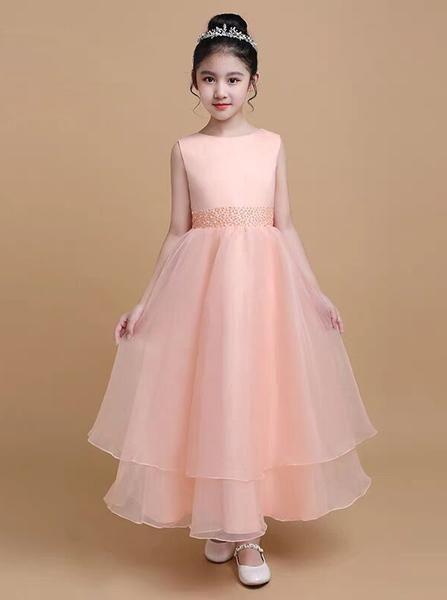 Long Junior Bridesmaid Dress Elegant Formal Dress For Teens Jb00075 Formal Dresses For Teens Dresses Formal Elegant Girls Formal Dresses