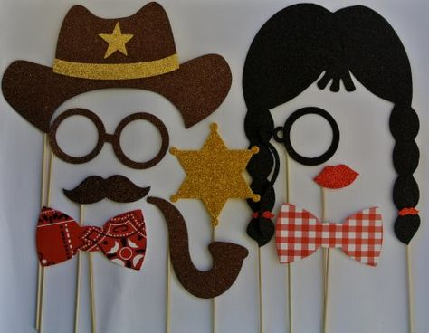 Cowboy Western Photo Booth Party Props Mustache on a Stick Texan Style western picwrap,http://www.amazon.com/dp/B00GL68CUC/ref=cm_sw_r_pi_dp_XsUatb0W26A43Y26