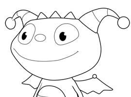 henry hugglemonster disney junior print and colour lego pinterest henry hugglemonster disney jr and printing - Disney Jr Coloring Pages Print